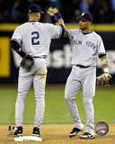 New York Yankees - Derek Jeter, Robinson Cano Photo Photo