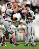 Atlanta Braves - Brian Mccann, Craig Kimbrel Photo Photo