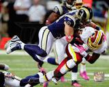 St Louis Rams - Brady Poppinga Photo Photo