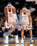 Denver Nuggets - Allen Iverson, Carmelo Anthony Photo Photo