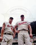 Baltimore Orioles, Washington Senators - Boog Powell, Frank Howard Photo Photo
