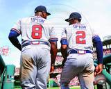 Atlanta Braves - B.J. Upton, Justin Upton Photo Photo