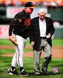 Baltimore Orioles - Earl Weaver, Buck Showalter Photo Photo