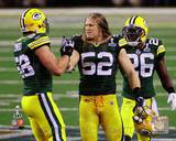Green Bay Packers - Charlie Peprah, Clay Matthews, Frank Zombo Photo Photo