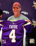 Minnesota Vikings - Brett Favre Photo Photo