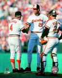 Baltimore Orioles - Earl Weaver, Jim Palmer, Rick Dempsey Photo Photo