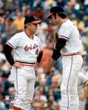 Baltimore Orioles - Earl Weaver, Jim Palmer Photo Photo
