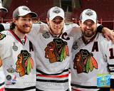 Chicago Blackhawks - Duncan Keith, Jonathan Toews, Patrick Sharp Photo Photo