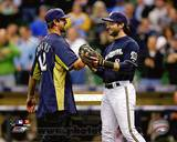 Green Bay Packers, Milwaukee Brewers - Aaron Rodgers, Ryan Braun Photo Photo