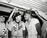 Brooklyn Dodgers - Duke Snider, Don Newcombe Photo Photo