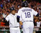 Detroit Tigers - Brayan Pena, Matt Tuiasosopo Photo Photo