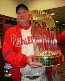 Philadelphia Phillies - Charlie Manuel Photo Photo