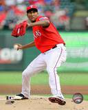 Texas Rangers - Alexi Ogando Photo Photo