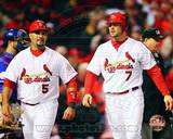 St Louis Cardinals - Albert Pujols, Matt Holliday Photo Photo
