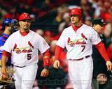 St Louis Cardinals - Albert Pujols, Matt Holliday Photo Photo