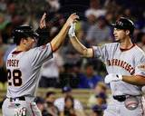 San Francisco Giants - Buster Posey, Brandon Belt Photo Photo