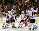 Chicago Blackhawks - Brent Seabrook, Jonathan Toews, Niklas Hjalmarsson, Patirck Kane Photo Photo