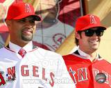Los Angeles Angels - Albert Pujols, C.J. Wilson Photo Photo