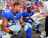 New York Giants - Aaron Ross, Michael Johnson Photo Photo