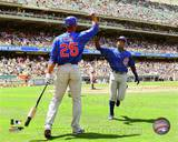 Chicago Cubs - Alfonso Soriano, Derrek Lee Photo Photo