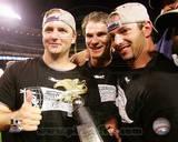 Chicago White Sox - A.J. Pierzynski, Aaron Rowand, Joe Crede Photo Photo