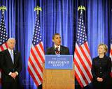 Historical - Barack Obama, Joe Biden, Hillary Clinton Photo Photo