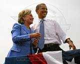Historical - Barack Obama, Hillary Clinton Photo Photo