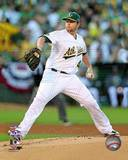 Oakland Athletics - Brett Anderson Photo Photo