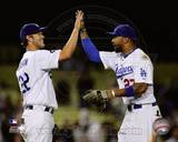 Los Angeles Dodgers - Clayton Kershaw, Matt Kemp Photo Photo