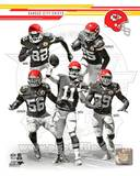 Kansas City Chiefs - Alex Smith, Dwyane Bowe, Derrick Johnson, Jamaal Charles, Eric Berry Photo Photo