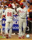 Philadelphia Phillies - Chase Utley, Ryan Howard Photo Photo
