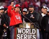 St Louis Cardinals - Albert Pujols, Tony La Russa Photo Photo