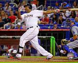 Miami Marlins - Carlos Lee Photo Photo