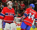 Montreal Canadiens - Carey Price, Tomas Plekanec Photo Photo
