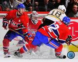 Montreal Canadiens - Carey Price, Josh Gorges, Travis Moen Photo Photo