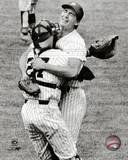 New York Yankees - Dave Righetti, Butch Wynegar Photo Photo
