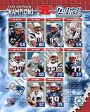 New England Patriots - Corey Dillon, Tom Brady, Rodney Harrison Photo Photo