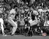 San Francisco Giants - Buster Posey, Brian Wilson Photo Photo