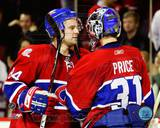 Montreal Canadiens - Carey Price, Guillaume Latendresse Photo Photo