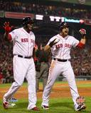 Boston Red Sox - David Ortiz, Jacoby Ellsbury Photo Photo