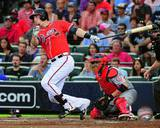 Atlanta Braves - Chris Johnson Photo Photo