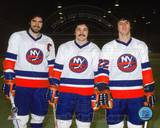 New York Islanders - Brian Trottier, Mike Bossy, Clark Gillies Photo Photo