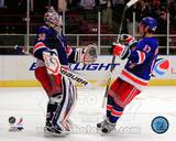 New York Rangers - Brandon Dubinsky, Henrik Lundqvist Photo Photo