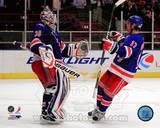 New York Rangers - Brandon Dubinsky, Henrik Lundqvist Photo Photo