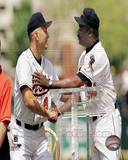 Baltimore Orioles - Cal Ripken Jr., Eddie Murray Photo Photo