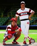 Chicago White Sox - Carlton Fisk, Tom Seaver Photo Photo