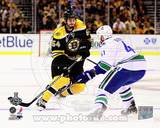 Vancouver Canucks, Boston Bruins - Andrew Alberts, Adam McQuaid Photo Photo