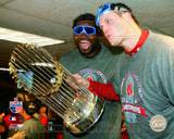 Boston Red Sox - David Ortiz, Jonathan Papelbon Photo Photo