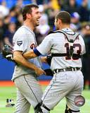 Detroit Tigers - Alex Avila, Justin Verlander Photo Photo