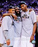 Oklahoma City Thunder - James Harden, Eric Maynor, Kevin Durant Photo Photo